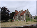 TM0340 : Layham St Andrew�s church by Adrian S Pye