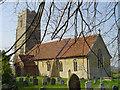 TM2358 : Monewden St Mary�s church by Adrian S Pye