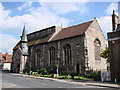 TM0855 : Needham Market St John the Baptist�s church by Adrian S Pye