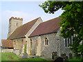 TL9141 : Newton All Saints church by Adrian S Pye