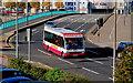 J3474 : Eastside park and ride bus, Belfast (2) by Albert Bridge