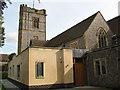 TQ3951 : New extension of St John's church by Stephen Craven