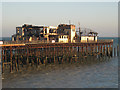 TQ8108 : Hastings Pier remains by Oast House Archive