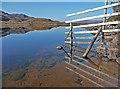 NG8553 : Fence at Loch Damph : Week 41