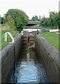 SO8958 : Offerton Top Lock near Tibberton, Worcestershire by Roger  Kidd