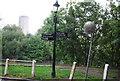 TQ1877 : Thames Path signpost, Kew by N Chadwick