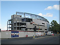 SP0684 : Rebuilding at Edgbaston cricket ground: 2 by Robin Stott