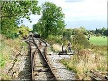 SK3047 : Shottle Railway Sidings, Cowers Lane by Dave Hitchborne