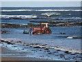 NU2614 : Hauling in the boat, Boulmer : Week 43