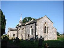 TG1733 : Aldborough St Mary's church by Adrian S Pye