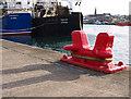 J5082 : Mooring post, Bangor by Rossographer
