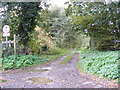 TM3660 : Harrow Lane Byway to Low Road by Adrian Cable