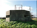 TM5284 : Large hexagonal pillbox at Benacre by Adrian S Pye