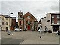 TM5593 : Lowestoft United Reformed church by Adrian S Pye