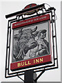 TQ4655 : The Bull Inn sign by Oast House Archive