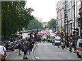 TQ2880 : Stop The Pope March Piccadilly by Nigel Mykura