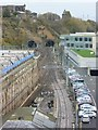 NT2673 : View of the Calton Tunnel from North Bridge by kim traynor