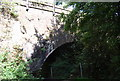 TQ5645 : Railway bridge over The Shallows, Haysden Country Park by N Chadwick