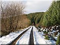 NN9046 : Track beside Loch Kennard : Week 45