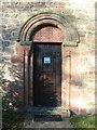 SP3085 : Corley Church, south doorway by E Gammie
