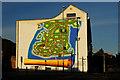 SZ6498 : Mural in Southsea, Hampshire : Week 46
