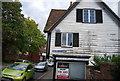 TQ5354 : Weatherboarded house, Six Bells Lane by N Chadwick