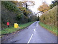 TM3878 : Wash Lane & Wissett Hall Postbox by Adrian Cable