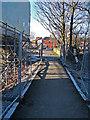 SD9409 : Metrolink works, Wood End by michael ely