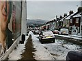 TQ3205 : Snow in Totland Road by Paul Gillett