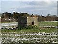TM5286 : A rare First World War hexagonal pillbox at Kessingland by Adrian S Pye