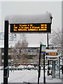 "TQ2636 : Bus stops, Crawley - ""All services currently suspended"" : Week 48"