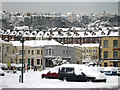 TQ8109 : Snowy houses on West Hill by Oast House Archive