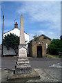 TL3472 : Memorial and Lock-up, Needingworth by Des Blenkinsopp