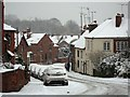 SP2972 : Spring Lane in the snow by John Brightley