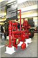 SE1835 : Bradford Industrial Museum - steam fire pump by Chris Allen