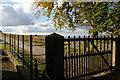 SJ9782 : Lyme Park: the East Lodge entrance by Christopher Hilton