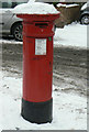 TQ2078 : Postbox W4 11 Antrobus Road/Bollo Lane by Alan Murray-Rust