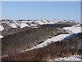 SN6878 : Snow above Cwm Rheidol by Nigel Brown