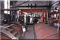 SD8634 : Queen Street Mill - boiler tops by Chris Allen