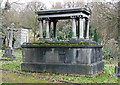 TQ3272 : Johann and Annie Sparenborg's tomb, West Norwood Cemetery by Stephen Richards