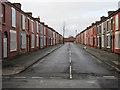 SJ3688 : Powis Street, Toxteth by John S Turner