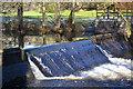 SJ0119 : Weir on Afon Efyrnwy by John Firth