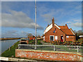 TG4310 : The Ferry Inn, Stokesby by Adrian S Pye