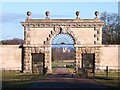 SE2869 : East Gate, Studley Royal : Week 3
