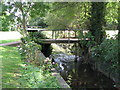 TQ3969 : The River Ravensbourne, Shortlands Golf Course (5) by Mike Quinn