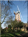TG3923 : Britain's tallest towermill - Sutton Mill by Evelyn Simak