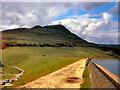 SE0103 : Dovestones Reservoir and Alderman's Hill by David Dixon