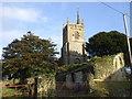 ST5360 : Church of St Mary the Virgin, Nempnett Thrubwell by John Lord