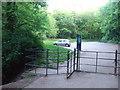 ST5577 : Blaise Castle Estate - the car park at the 'Dingle' entrance by C P Smith