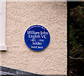 Photo of William John English blue plaque